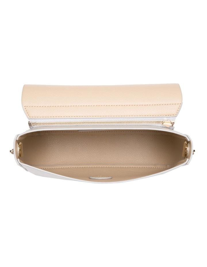 Reversible Metallic Flap Crossover Bag image 4