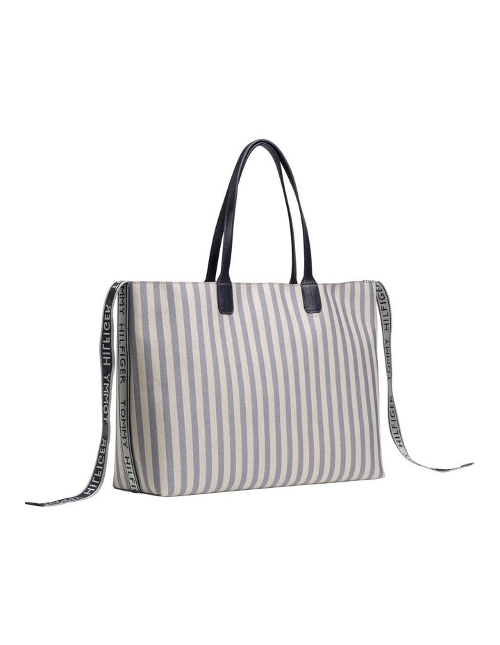 Tommy Icon Stripe Tote Bag image 2