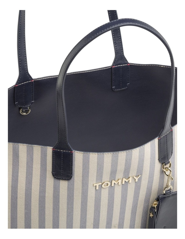 Tommy Icon Stripe Tote Bag image 3