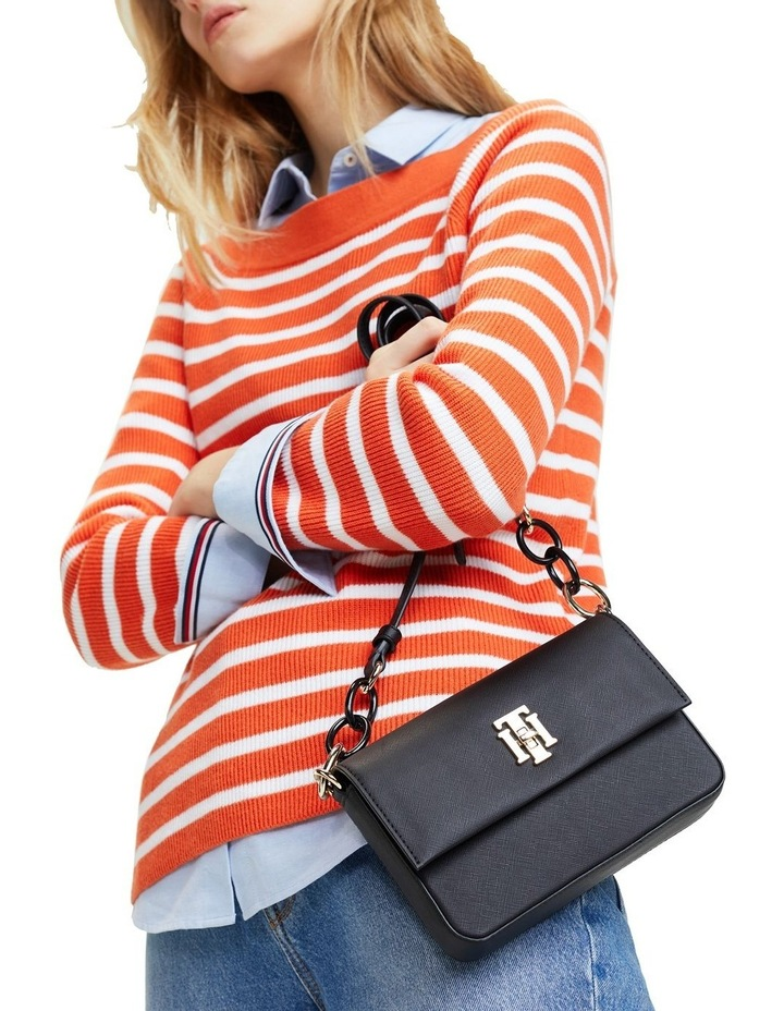 TH Saffiano Crossover Bag image 4