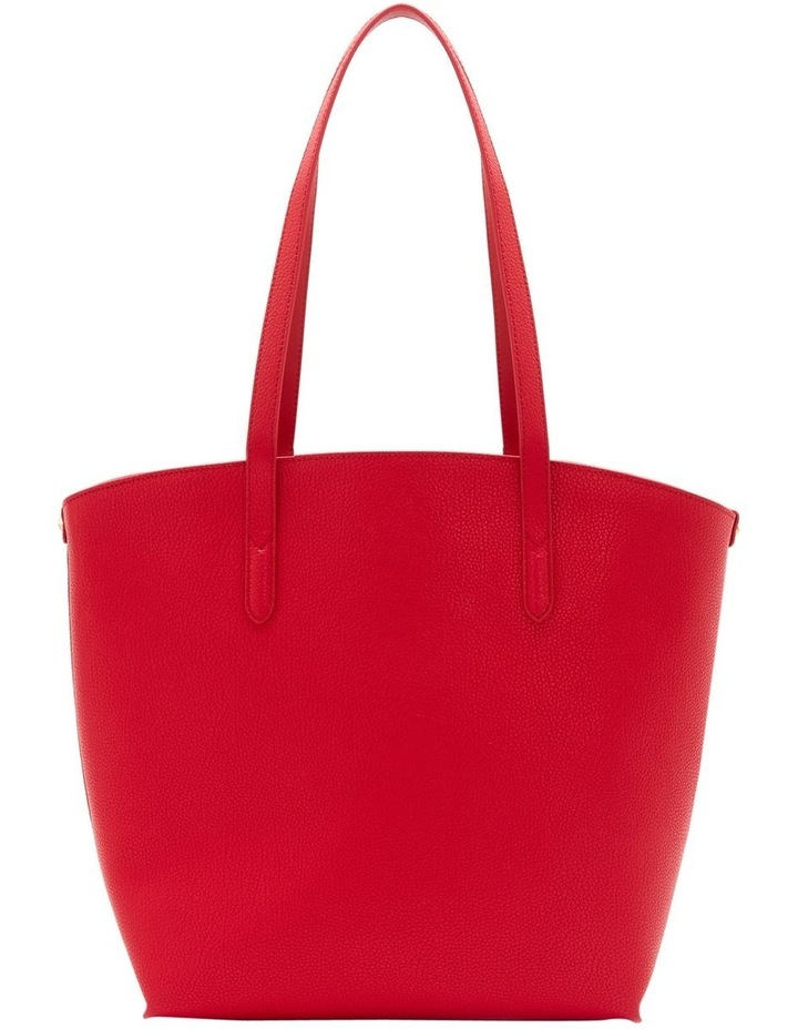 Classic Red Leather Agnes Tote image 2