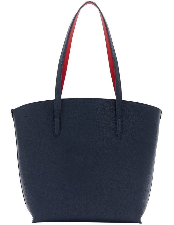 Navy Leather Agnes Tote image 2
