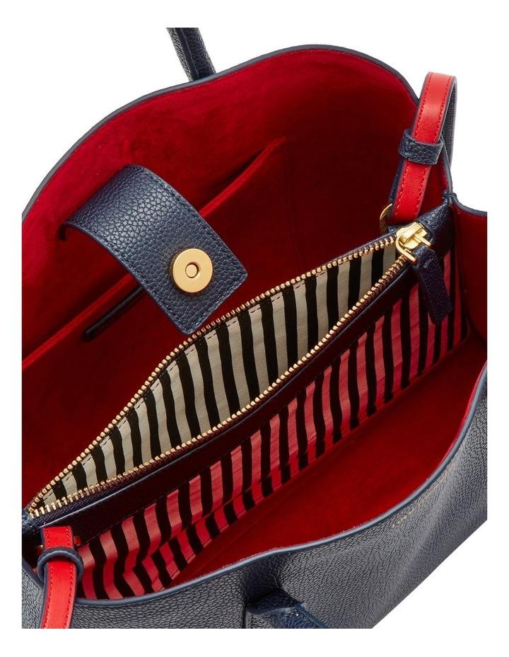 Navy Leather Emme image 3