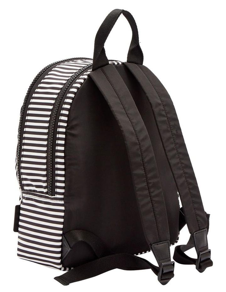 Black/Chalk/Red Heart & Stripes Sadie Backpack image 2