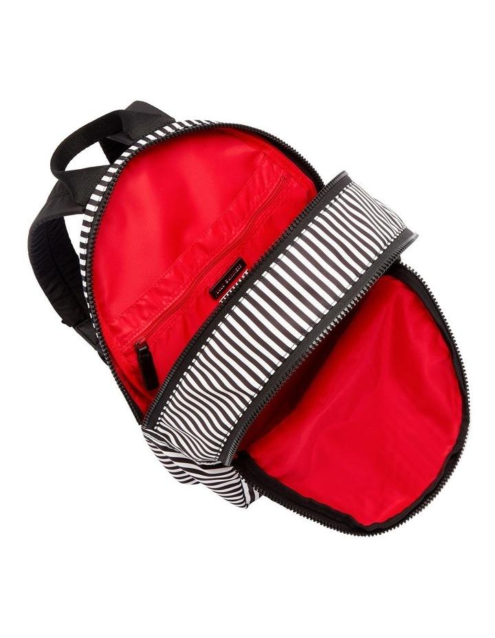 Black/Chalk/Red Heart & Stripes Sadie Backpack image 4