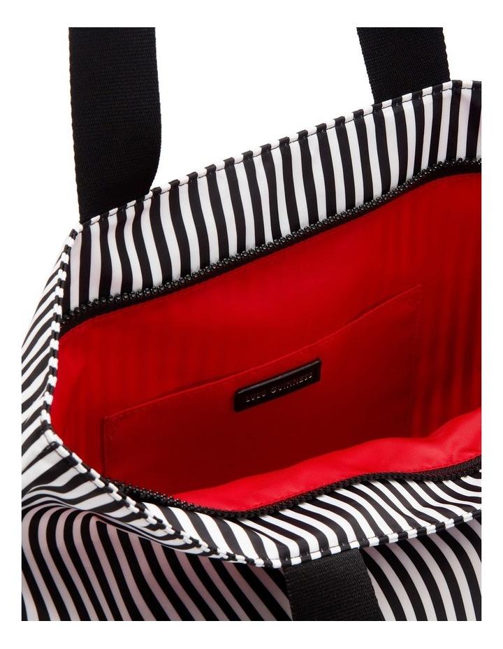 Black/Chalk/Red Heart & Stripes Bea Tote image 4