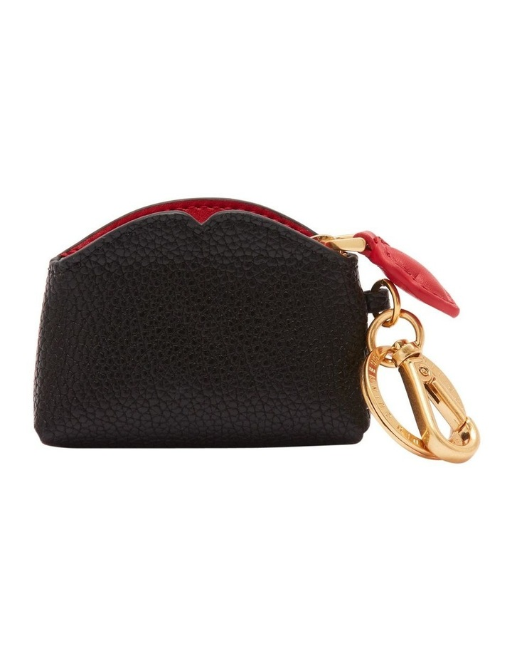 Black/Red Peekaboo Lip Colette Keyring image 2