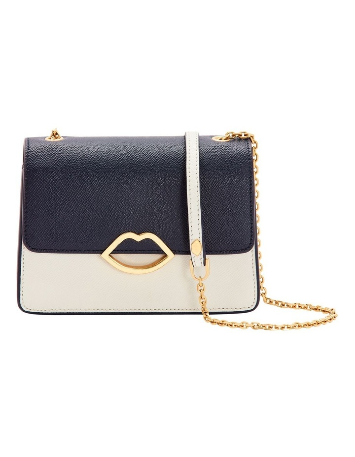 Navy/Oyster Cut Out Lip Polly image 1
