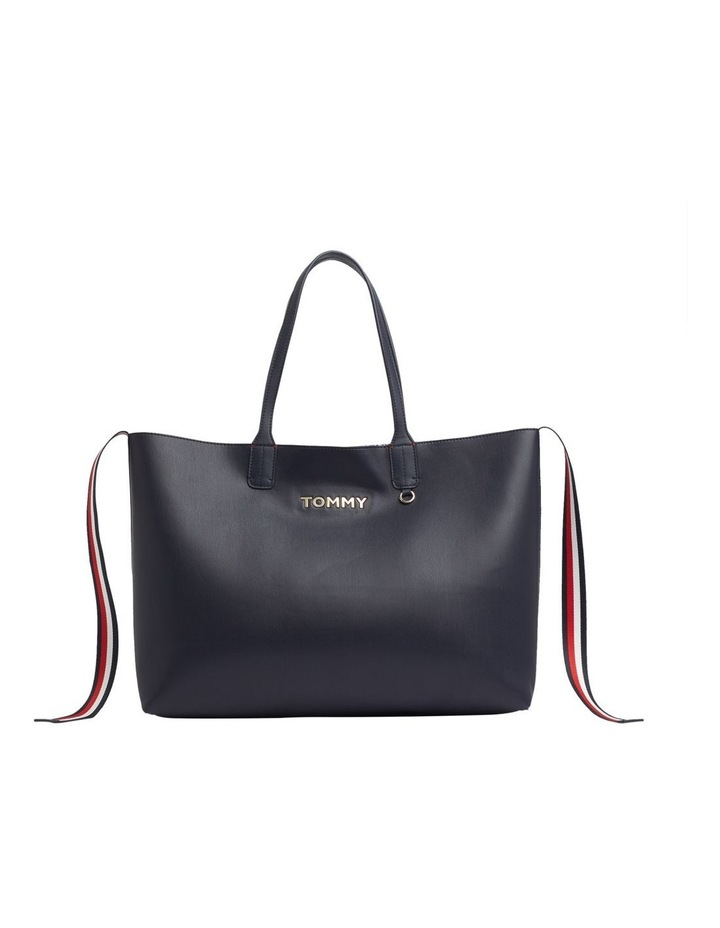 Tommy Icon Logo Tote Bag image 1