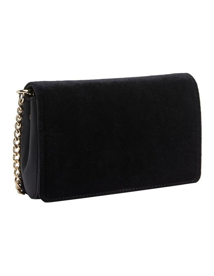Lock Small Velvet Crossover Bag image 3
