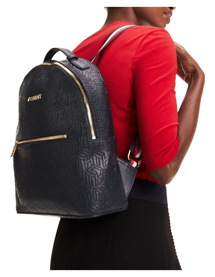 Icon Embossed Backpack image 4