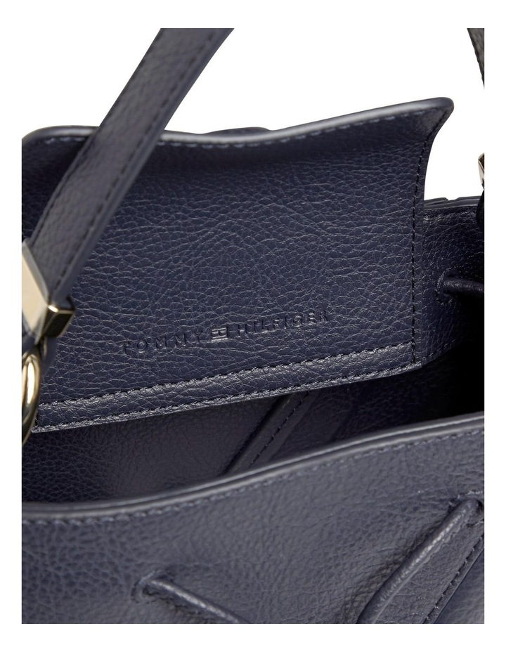 Small Signature Tape Bucket Bag image 3