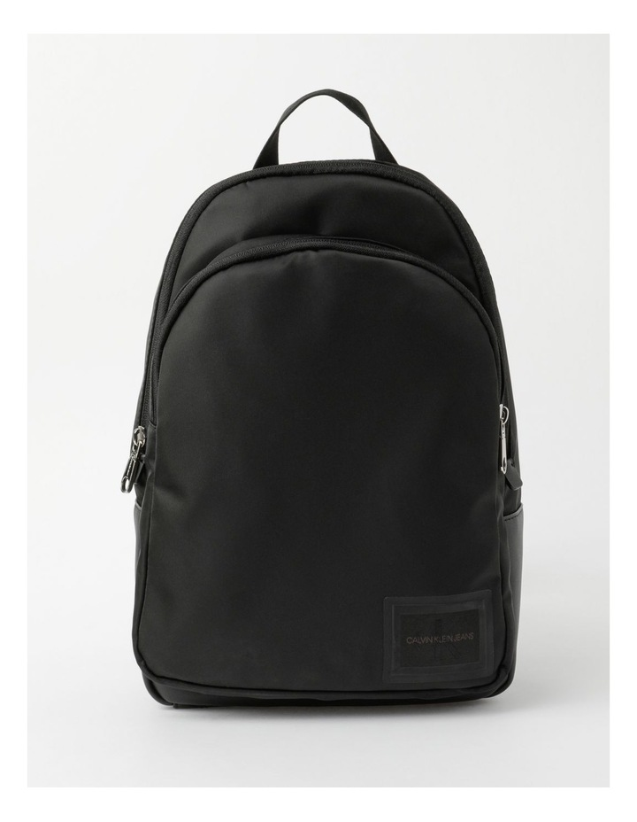 Sleek Nylon Zip Around Backpack image 1