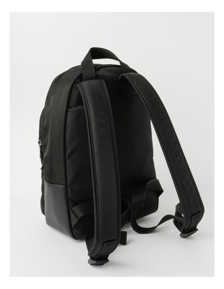 Sleek Nylon Zip Around Backpack image 2