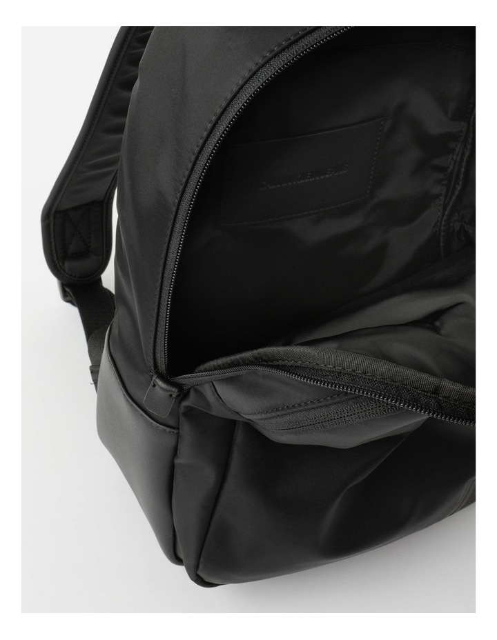 Sleek Nylon Zip Around Backpack image 4