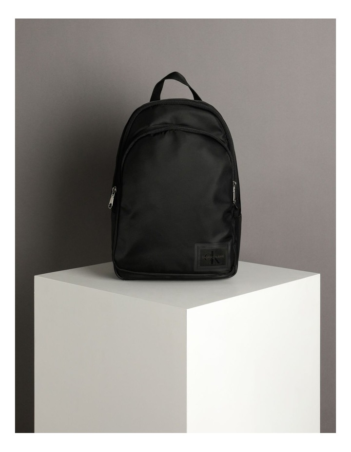 Sleek Nylon Zip Around Backpack image 5