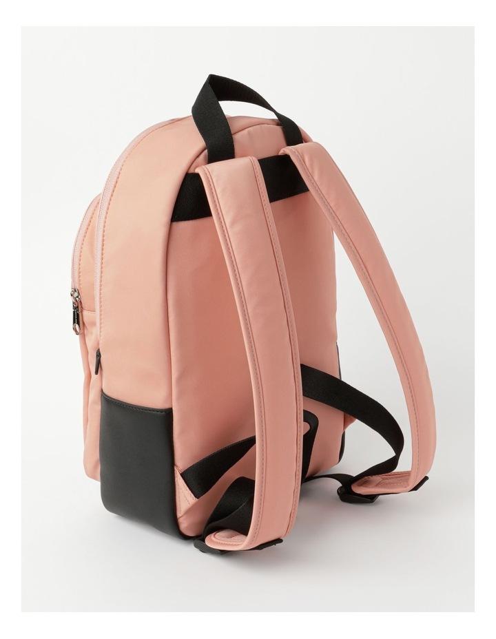 Sleek Nylon Zip Around Backpack image 2