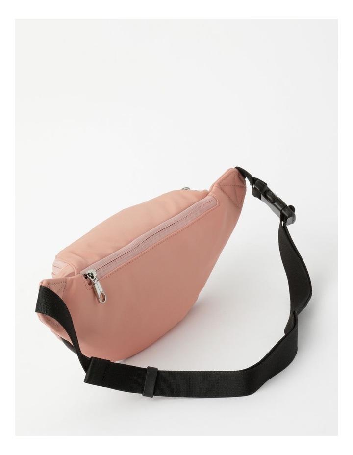 Sleek Nylon Zip Top Belt Bag image 2