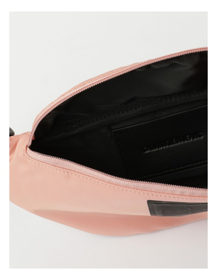 Sleek Nylon Zip Top Belt Bag image 4