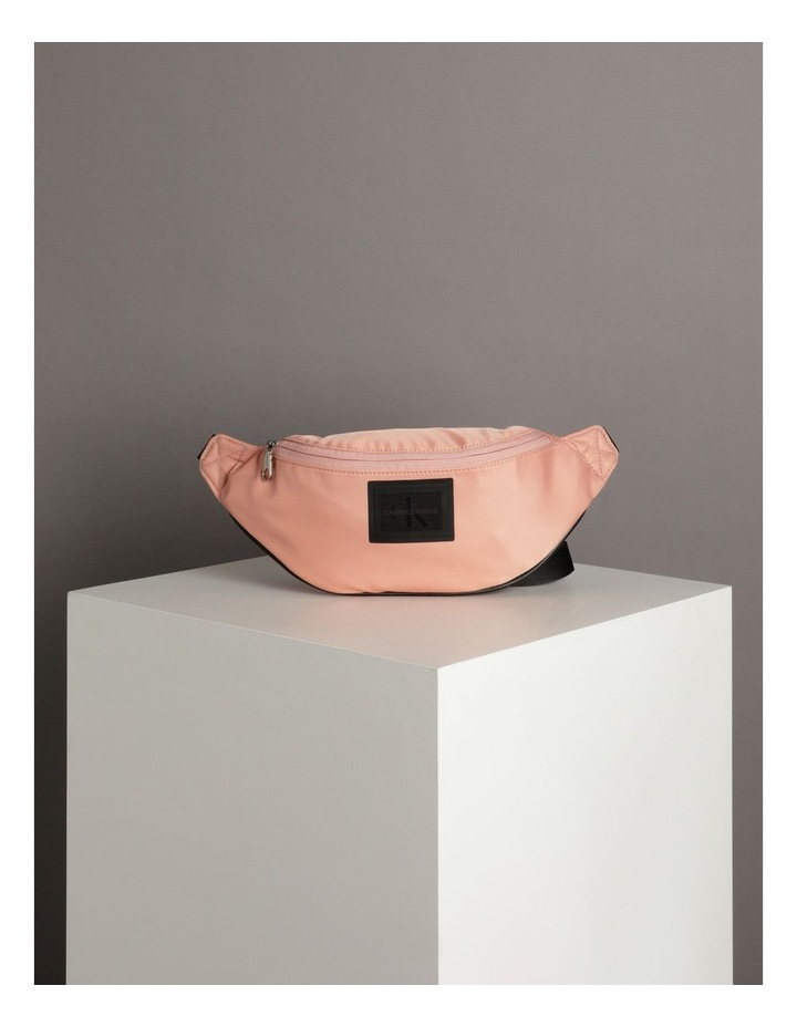 Sleek Nylon Zip Top Belt Bag image 5