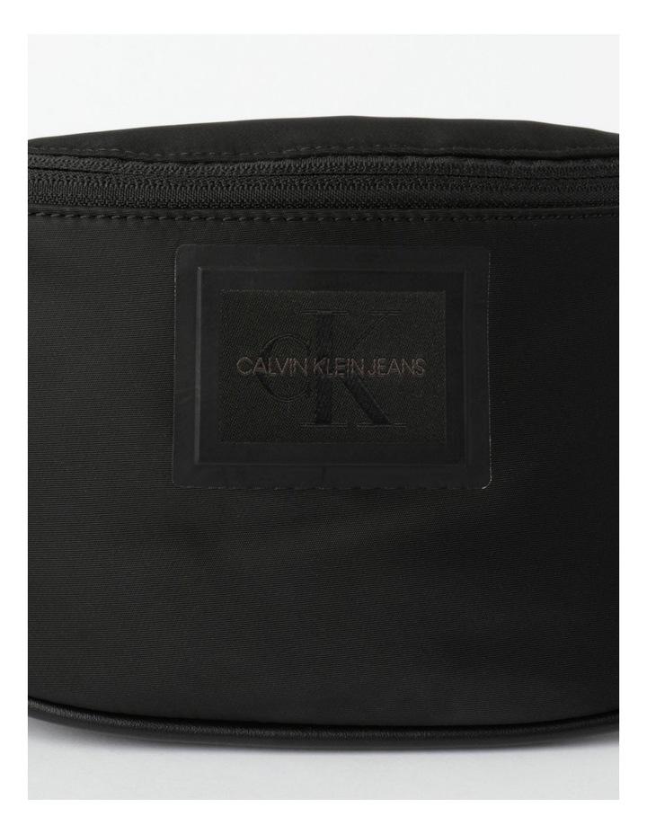 Sleek Nylon Zip Top Belt Bag image 3
