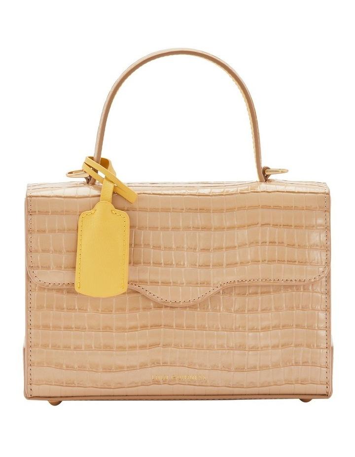 Almond Queenie Top Handle Shoulder Bag image 1