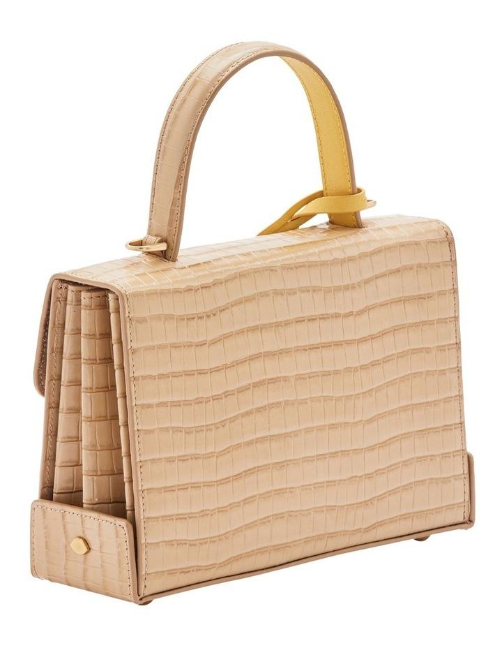 Almond Queenie Top Handle Shoulder Bag image 4