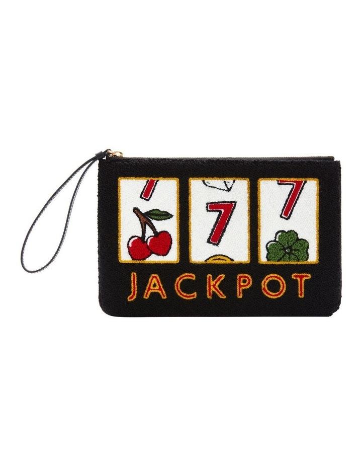 Black Grace Jackpot Zip Top Pouch image 1