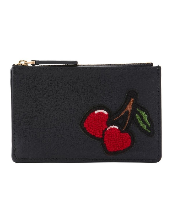 Black Lottie Zip Top Pouch image 1