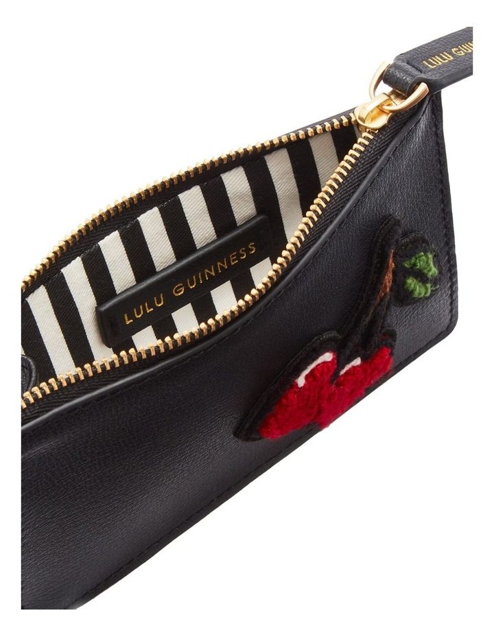 Black Lottie Zip Top Pouch image 3