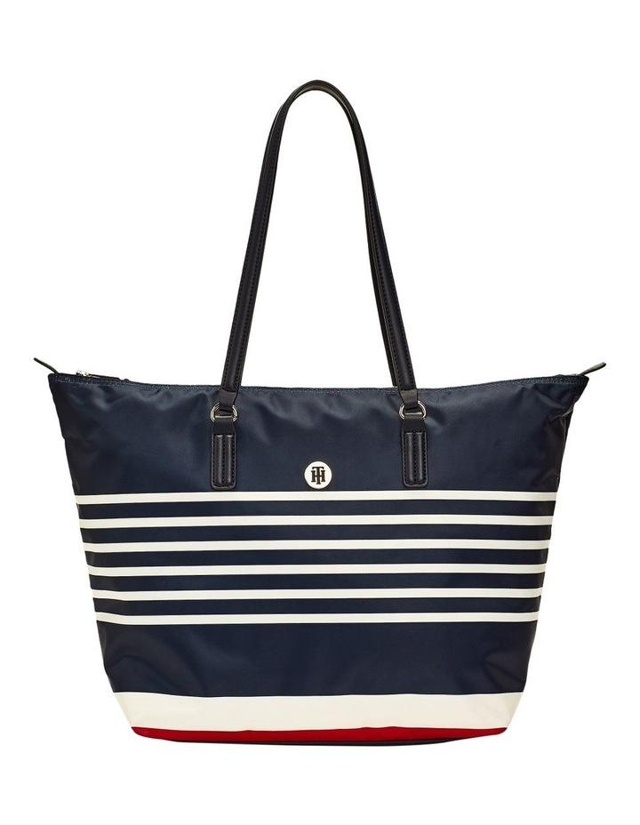 Horizontal Stripe Tote Bag image 1