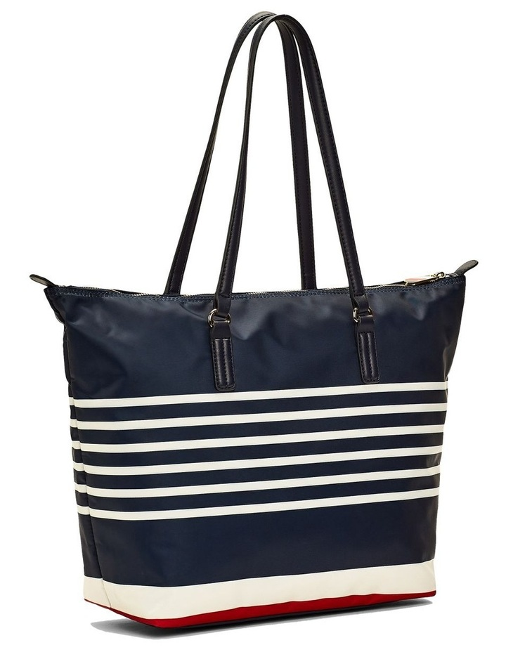 Horizontal Stripe Tote Bag image 2