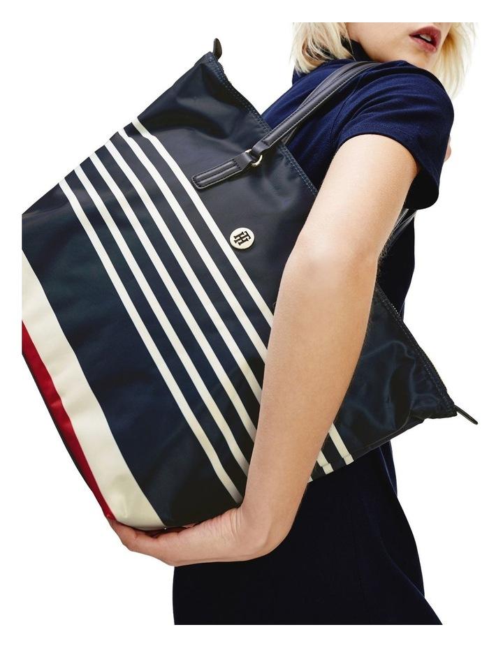 Horizontal Stripe Tote Bag image 4