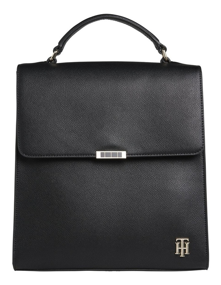 AW0AW08536BDS Saffiano Flap Over Backpack image 1