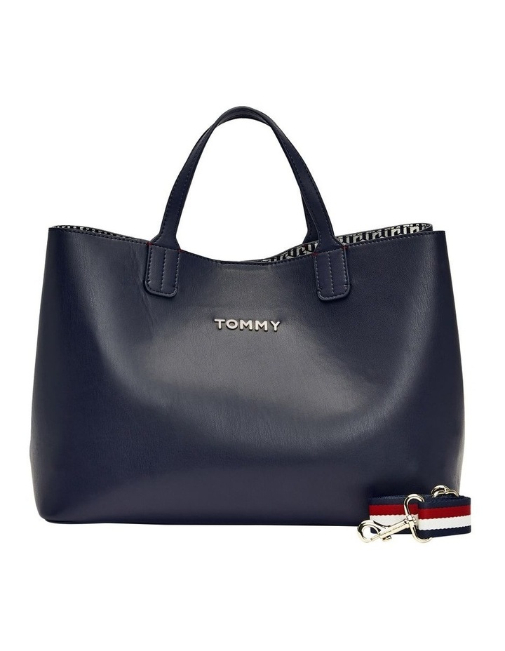 AW0AW08512CJM Iconic Tommy Double Handle Satchel image 1