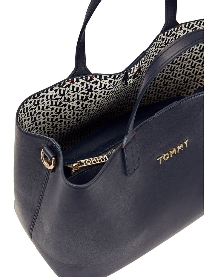 AW0AW08512CJM Iconic Tommy Double Handle Satchel image 3