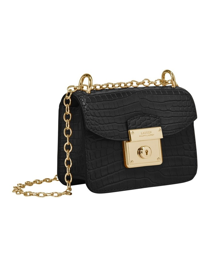 431778681001  Heritage Lock Croc Crossbody Bag image 1