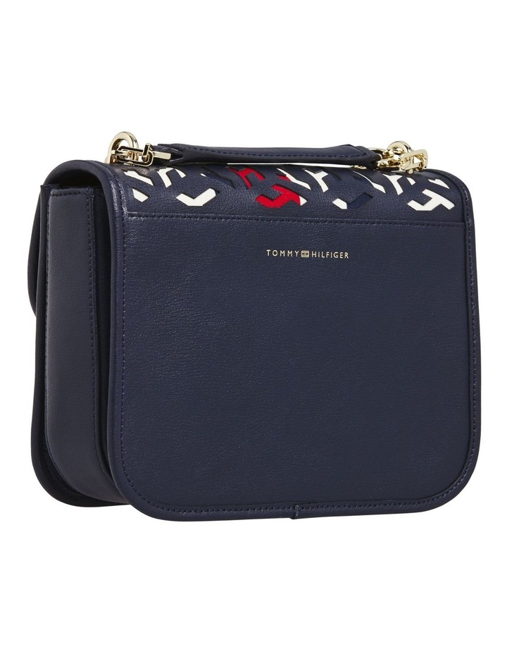 AW0AW08639_BDS TURNLOCK Flapover Crossbody Bag image 2