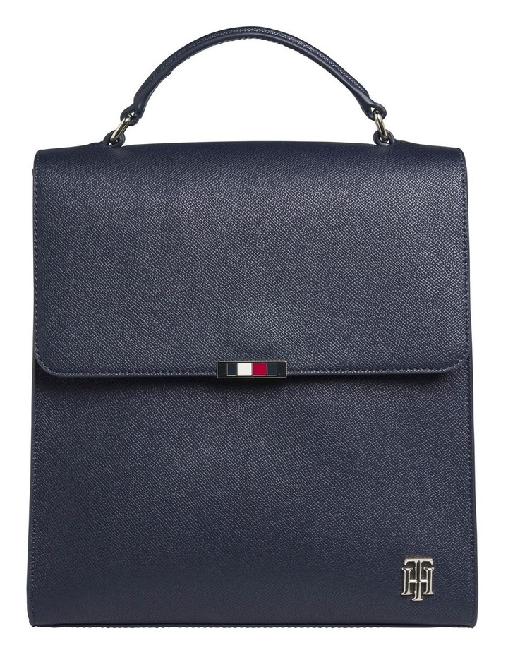 AW0AW08536_CJM Saffiano Flap Over Backpack image 1