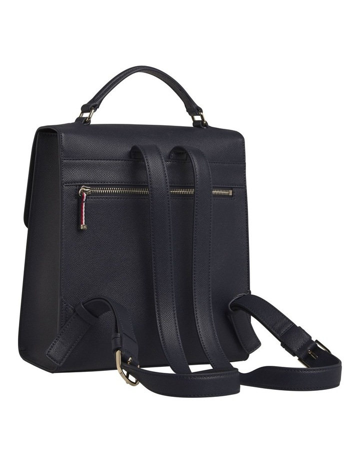 AW0AW08536_CJM Saffiano Flap Over Backpack image 2
