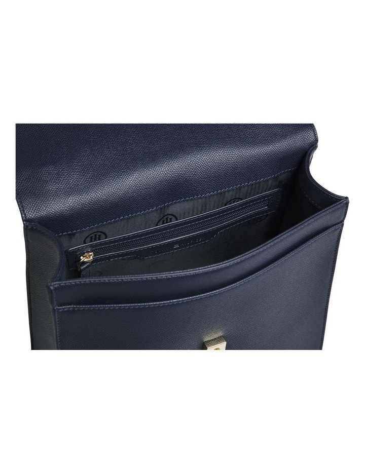 AW0AW08536_CJM Saffiano Flap Over Backpack image 3