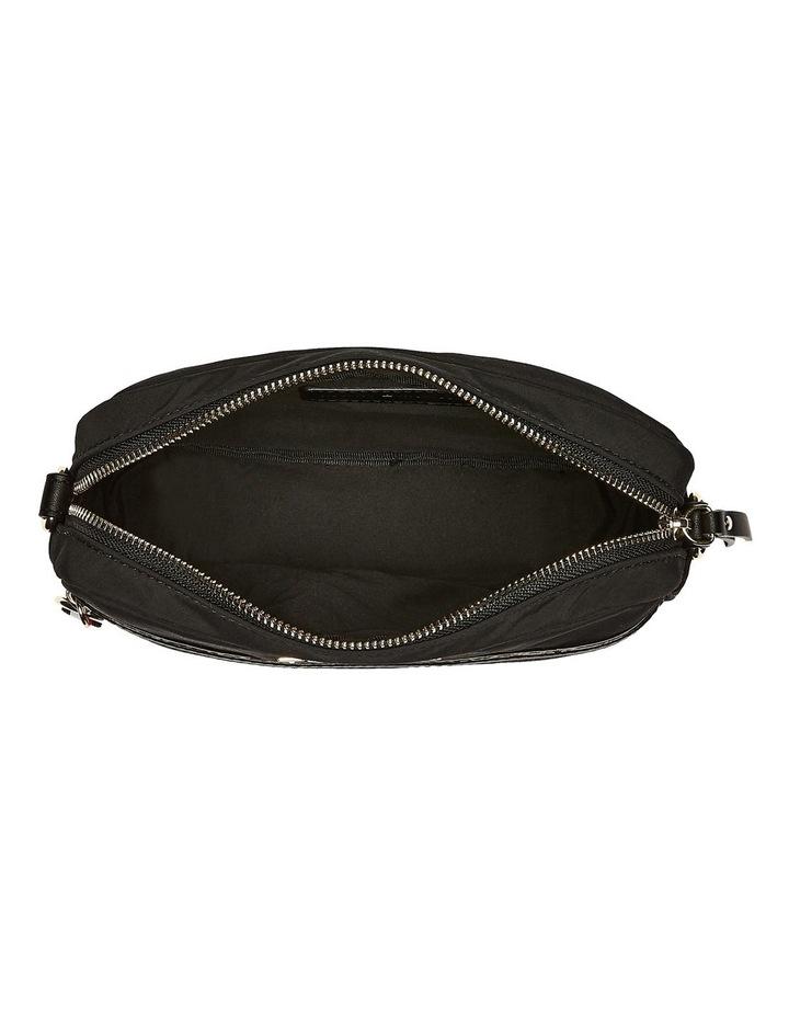 AW0AW08510_BDS NYLON Zip Around Crossbody Bag image 4