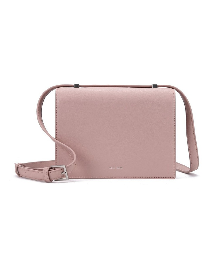 CHA060-CB-02 Charlotte Flap Over Vegan Crossbody Bag image 1