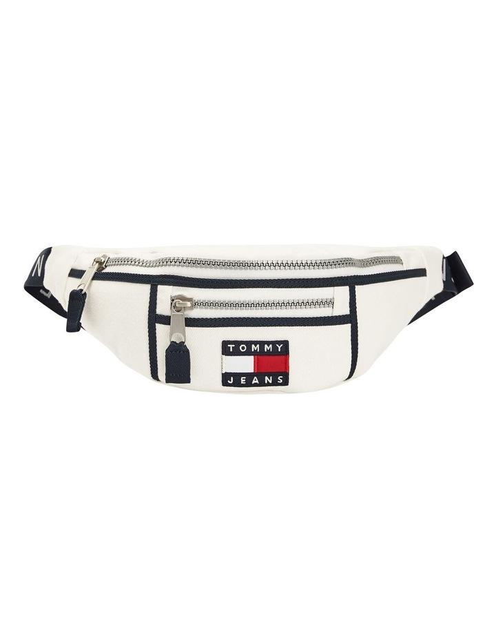 AW0AW08730_0K4 HERITAGE CANVAS Zip Top Belt Bag image 1