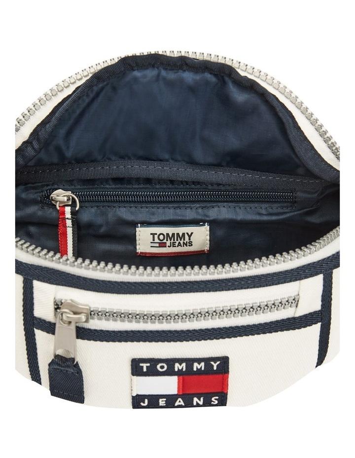 AW0AW08730_0K4 HERITAGE CANVAS Zip Top Belt Bag image 3