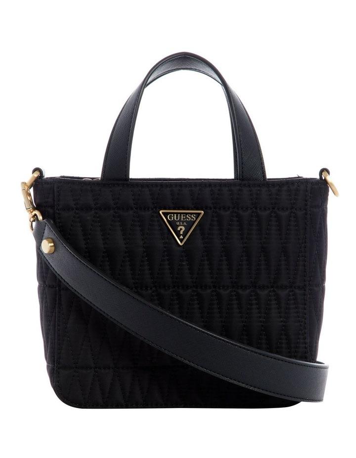 Layla Black Mini Tote Bag image 1