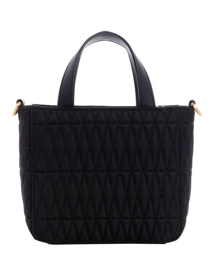 Layla Black Mini Tote Bag image 2