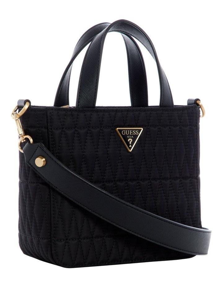 Layla Black Mini Tote Bag image 4