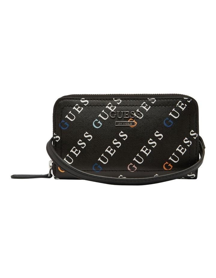 Silverman Black Logo Mini Camera Crossbody Bag image 1