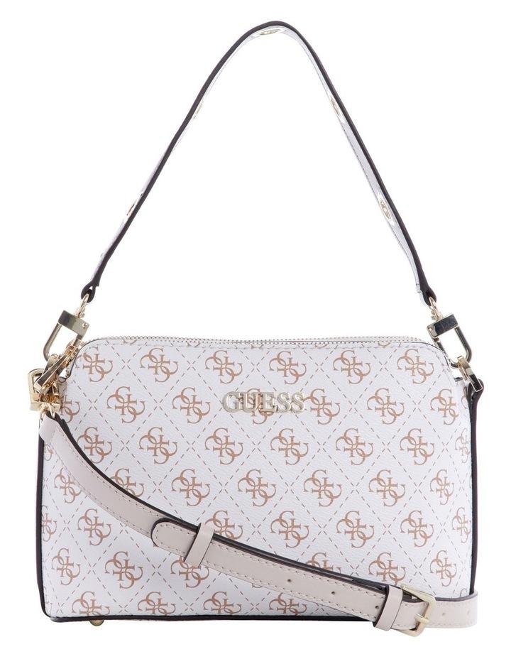 Washington White Multi Zip Top Crossbody Bag image 1